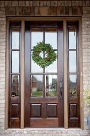 Exterior Doors Glass I Want These Doors For My House Country Exterior Wood