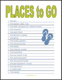 summer places to go with your as