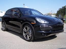 Porsche Cayenne Jet Black Metallic - porsche umber and tartufo leather interior with anthracite birch