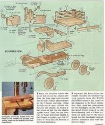 wood model plans google search cosas pinterest wooden car