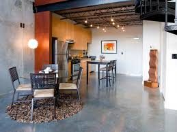 concrete ceiling lighting concrete floor in the kitchen with regard to concrete floor in the