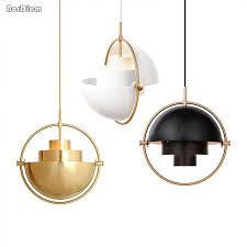 gold pendant light fixtures nordic metal gold pendant light multi semi circular pendant l