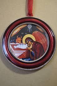 enamel orthodox ornament penandpapergreetings