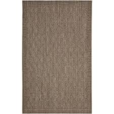 Faux Sisal Rugs Home Depot by Safavieh Palm Beach Silver 9 Ft X 12 Ft Area Rug Pab351d 9 The
