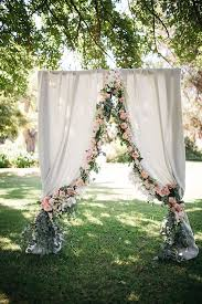 wedding backdrop arch 40 ways to decorate your wedding with floral garlands