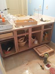 how to refinish bathroom vanity how to refinish a bathroom vanity bower power bloglovin u0027