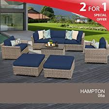 Outdoor Wicker Patio Furniture Sets Hton 8 Outdoor Wicker Patio Furniture Set 08a
