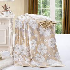 jeter un canapé boucle de serviette éponge couvertures adultes bébé enfants