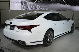 lexus is f sport 2018 2018 lexus ls 500 f sport debuts in new york myautoworld com