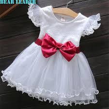 bear leader baby girls dress 2016 new summer casual style princess