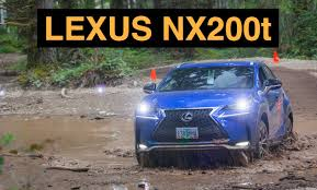 lexus nx hybrid towing 2015 lexus nx200t f sport off road and track review youtube