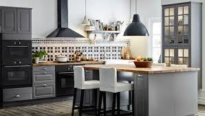 ilots de cuisine ikea caisson ilot cuisine un lot de cuisine rail placo plafond