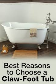 Claw Foot Bathtub The 4 Best Reasons To Choose A Claw Foot Tub Overstock Com
