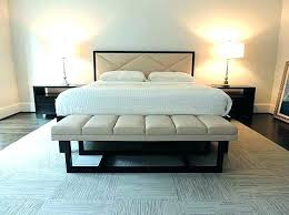 end bed bench foot of bed bench foot of bed bench white leather bench at foot of