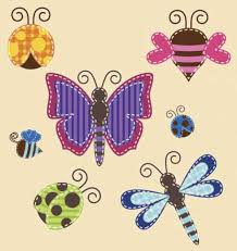 applique patterns butterflies ladybugs and bee patterns freeapplique