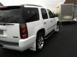cadillac escalade mud flaps weathertech mud guards painted to match chevy tahoe forum