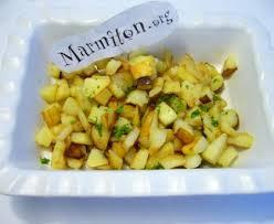 cuisiner pomme de terre pommes de terres sautées recette de pommes de terres sautées