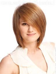 medium short layered hairstyle with bangs modern style layered