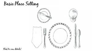 Proper Table Setting Silverware Elegant How To Do Place Setting For Table Cowallpaper