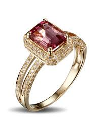 engagement ruby rings images Luxurious 1 50 carat ruby and diamond halo engagement ring in jpg