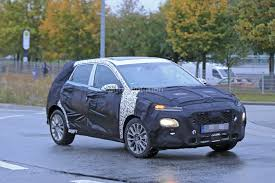suv hyundai hyundai b suv prototype spied with c4 cactus face and sleek body