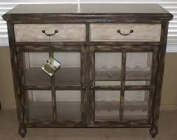 Pulaski Wine Cabinet Pulaski Furniture Painted Two Tone Wine Cabinet