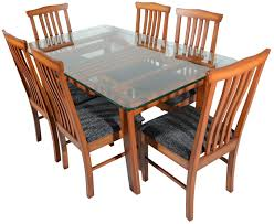 six seater dining table rawat six seater dining table muticolour rawat furniture