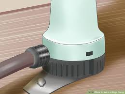 how to wire a bilge pump with pictures wikihow