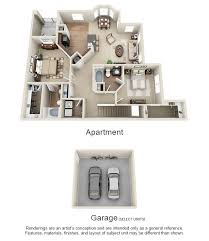 Sycamore Floor Plan One Two And Three Bedroom Apartments In Terre Haute In