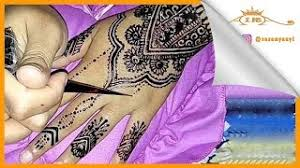 video keren bikin tato halal menggunakan henna music jinni