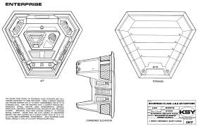 star trek blueprints sovereign class federation starship u s s