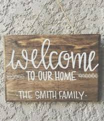 Personalized Wood Signs Home Decor Last Name Wood Sign Custom Family Sign Personalized Wood Sign