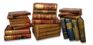 antique cloth books per metre