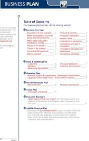 Template For A Business Plan Free Download Business Plan Sample Download Free Premium Templates Forms