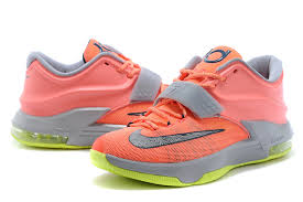 for sale nike kd 7 vii 35k degrees bright mango space blue