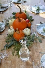 8 centros de mesas con calabazas para thanksgiving decoración