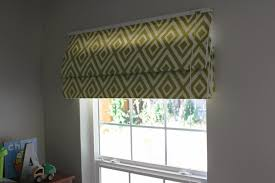 Roman Shades And Valances How To Make No Sew Roman Shades U2014 Chic Little House