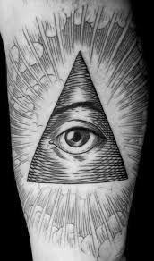 triangle eye meaning 1000 geometric tattoos ideas