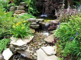 Water Rock Garden Rock Water Garden Home Design Ideas And Pictures
