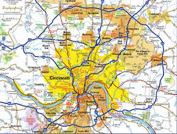 Map Of Dayton Ohio Where Is Cincinnati Oh Where Is Cincinnati Oh Located In The