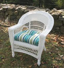 White Dining Chair Cushions Wicker Dining Chair Replacement Cushions