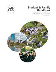 cats academy boston student handbook 2016 17 by cambridge