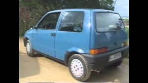 old top gear 1992 fiat cinquecento youtube