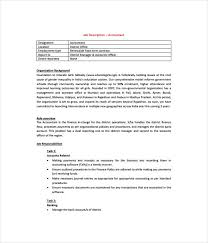 job description templates 21 free word pdf documents download