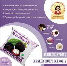 Masker Kulit Manggis Roro Mendut masker roro mendut kulit manggis grosir kosmetik original
