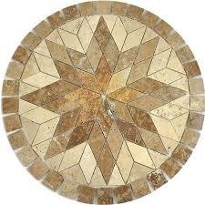 polaris decorative medallion 36in x 36in 935450854 floor