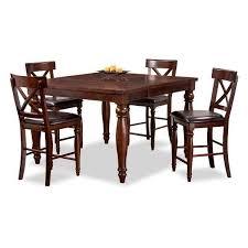 kingston dining room table kingston 5 piece pub set kg 5pcpub intercon kg 5454 kg bs 4 afw