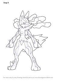 Coloriage Pokemon Lucario Fresh Fein Lucario Malvorlagen Ideen Ideen