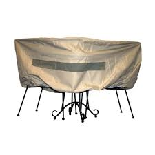 Patio Pvc Furniture - hearth u0026 garden polyester patio bistro table and chair set cover