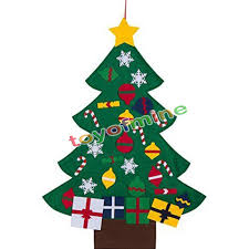 Wall Decoration For Preschool by New Deluxe Felt Christmas Tree Children Toddler Kids Uk Christmas